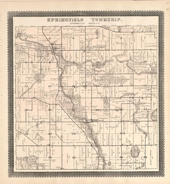 Illustrated atlas and Columbian souvenir of La Grange County, Indiana : showing its development in the first sixty years since organization.