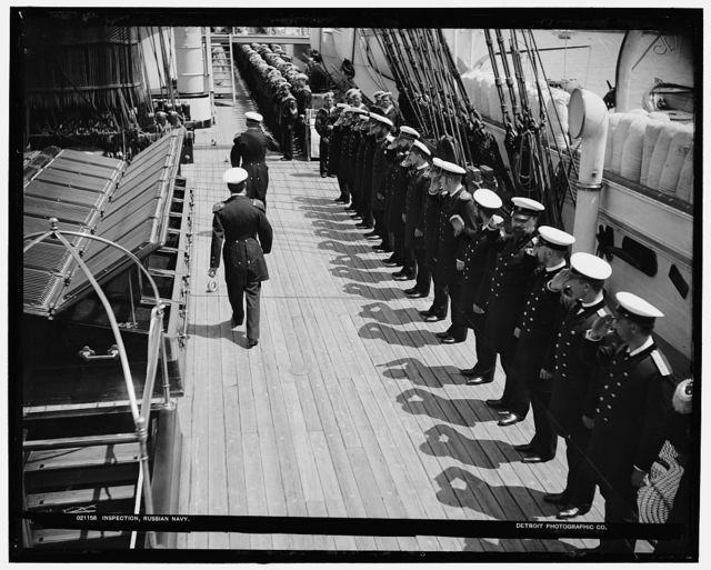 Inspection, Russian navy
