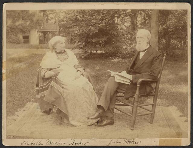 Isabella B. Hooker and John Hooker, 1893