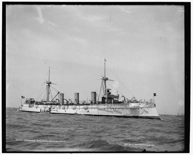 Kaiserin Augusta, German navy
