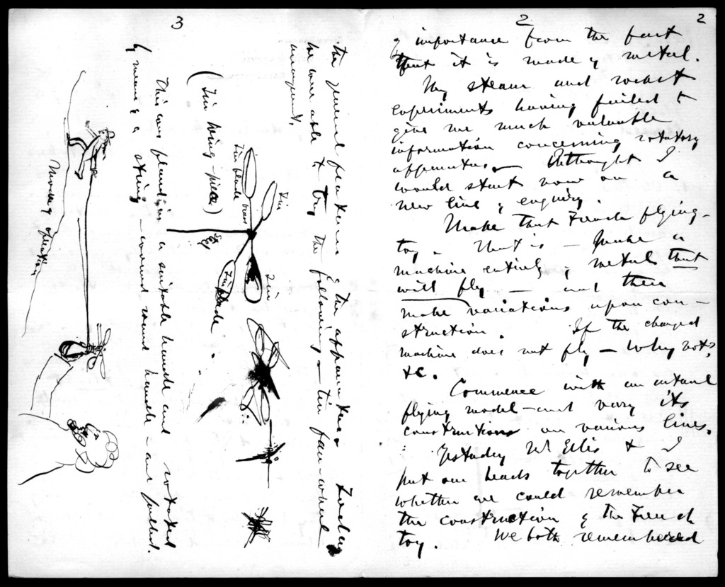 Letter from Alexander Graham Bell to Mabel Hubbard Bell, May 30, 1893