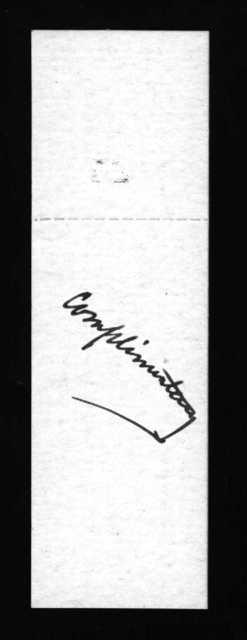 Letter from Oscar H. Regensburg to Alexander Graham Bell, April 22, 1893
