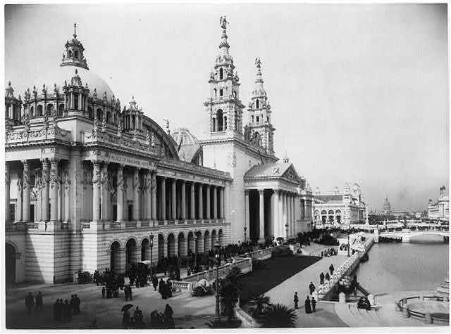 Palace of Mechanic Arts, World's Columbian Exposition, Chicago, Ill.