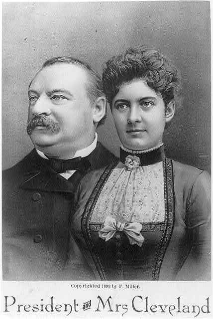 President and Mrs. [Grover] Cleveland