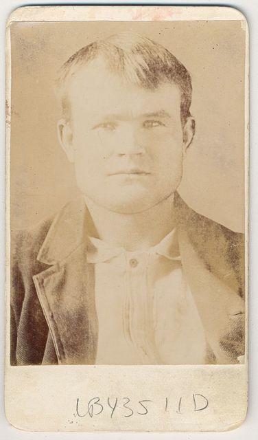 [Robert LeRoy Parker, alias Butch Cassidy, head-and-shoulders portrait]