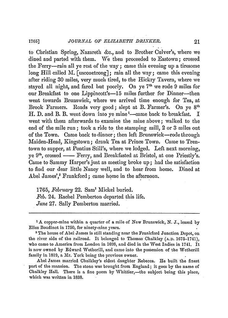 The Drinker family in America, to and including the eighth generation