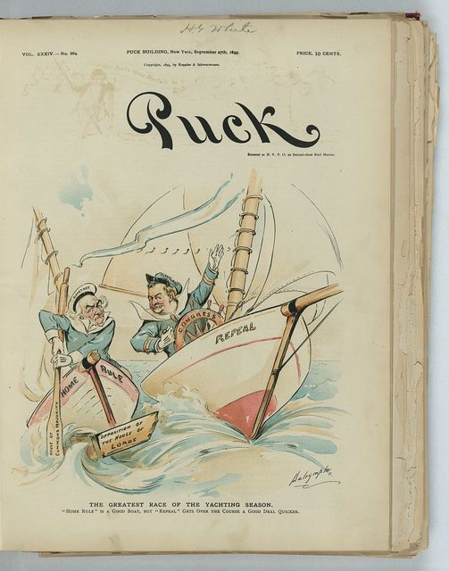 The greatest race of the yachting season / Dalrymple.