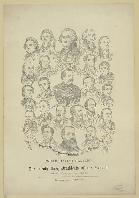 The twenty-three presidents of the republic from the year 1789 up to the present time