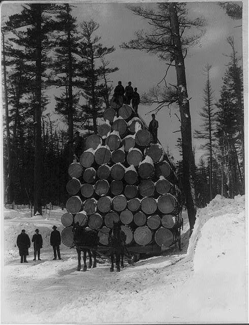 The World's Fair load of logs, 36,055 feet