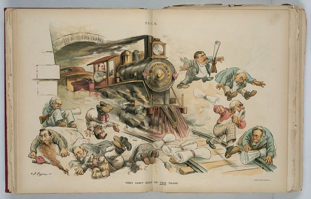 They can't hold up this train! / C.J. Taylor.