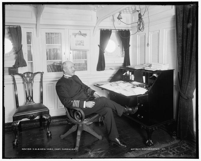 U.S.S. New York, Capt. Chadwick