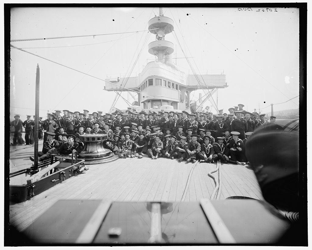 U.S.S. New York, ship's company