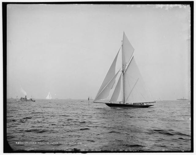 Valkyrie rounding outer mark Oct. 5, 1893