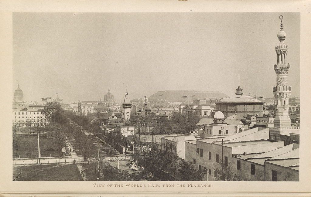 View of the World's Fair, from the Plaisance