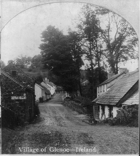 Village of Glenoe, Ireland
