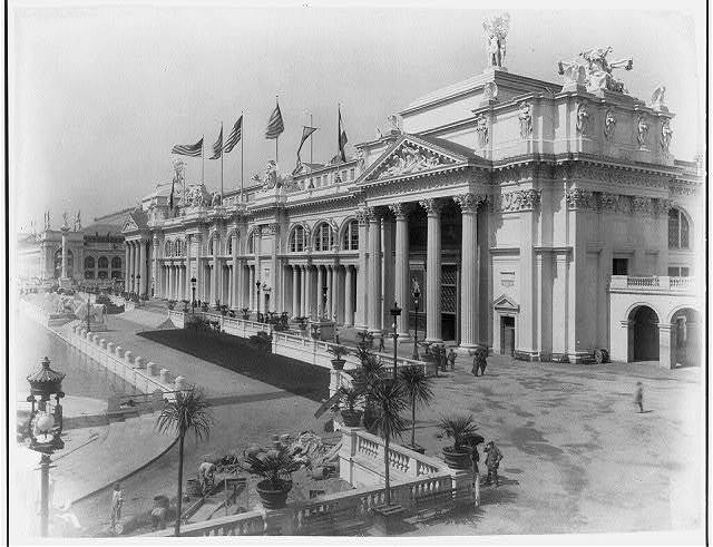 [World's Columbian Expo., Chicago, 1892: Manufacturers Building, rt. front]