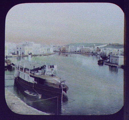 Bizerta - basin, or the inner harbor, of the old city of Biserta