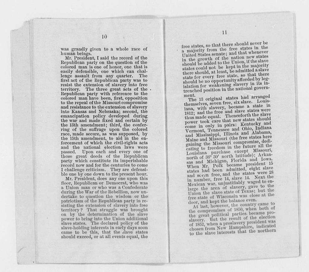 Chandler, William E. - Folder 1 of 2
