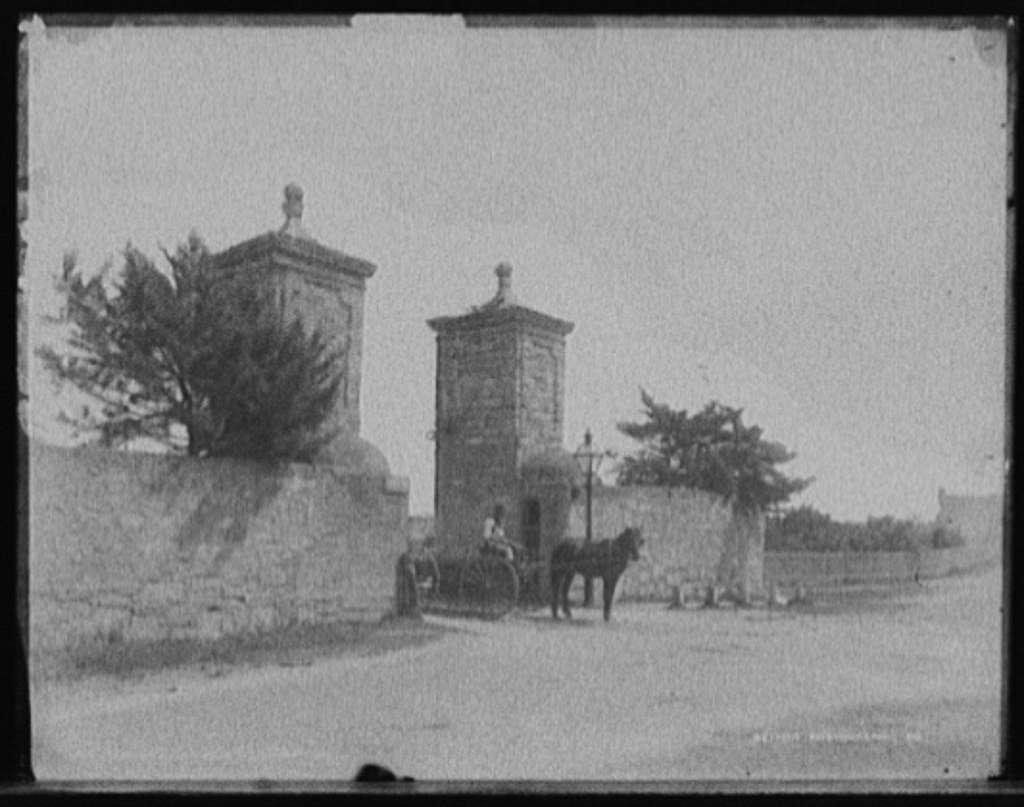 City gate, St. Augustine, Fla