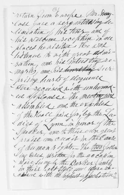 Correspondence, 1894-1899
