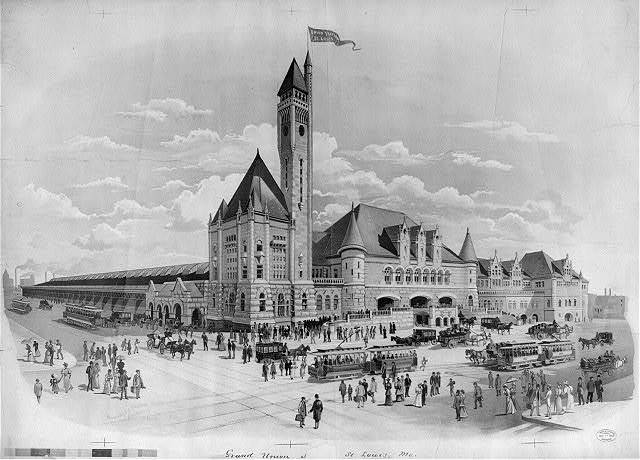 Grand Union Station, St. Louis, Mo.