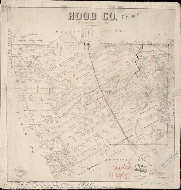 Hood Co. : General Land Office, May 1894 /