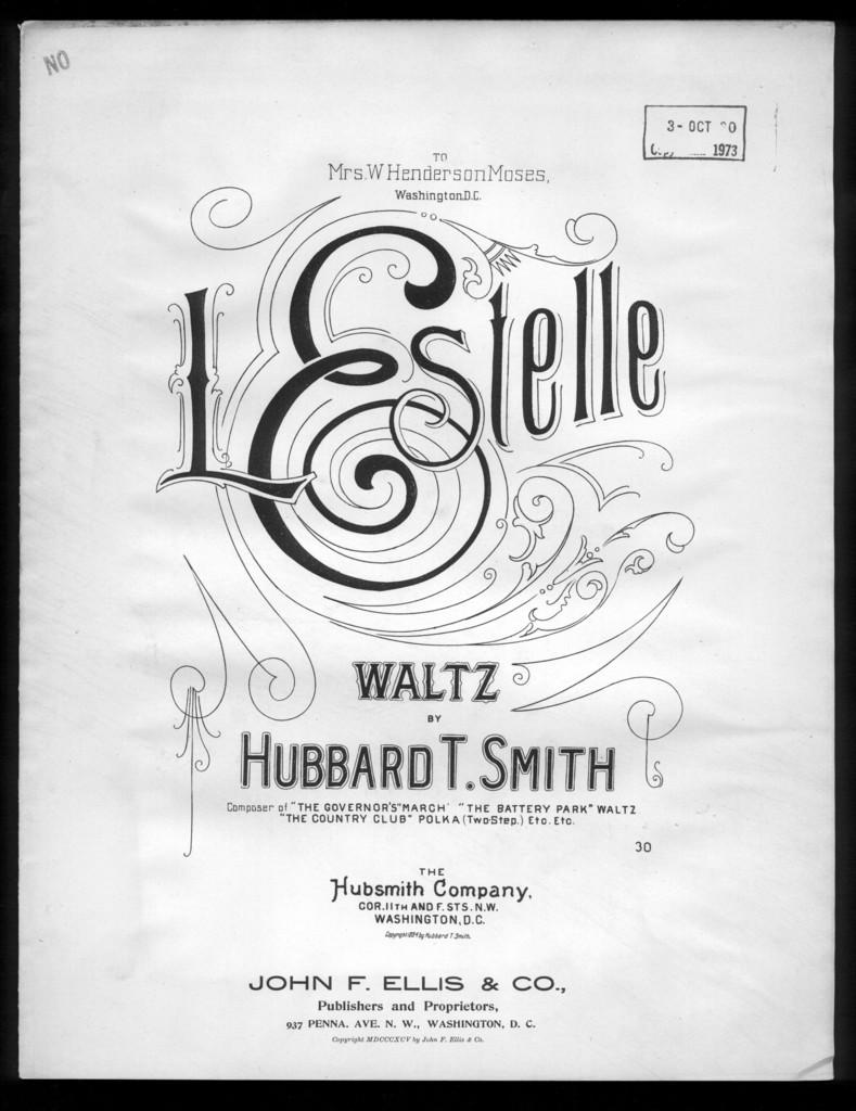 L' estelle waltz