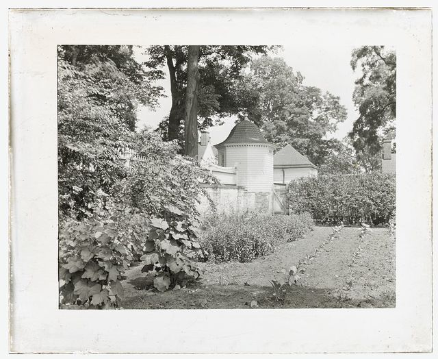 "[""Mount Vernon,"" George Washington house, George Washington Parkway, Mount Vernon, Virginia. Privy in vegetable garden]"
