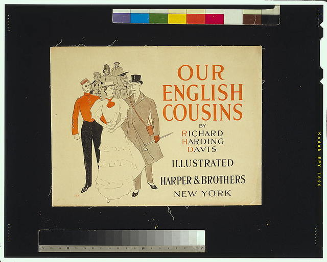 Our English cousins by Richard Harding Davis, illustrated / E.P.