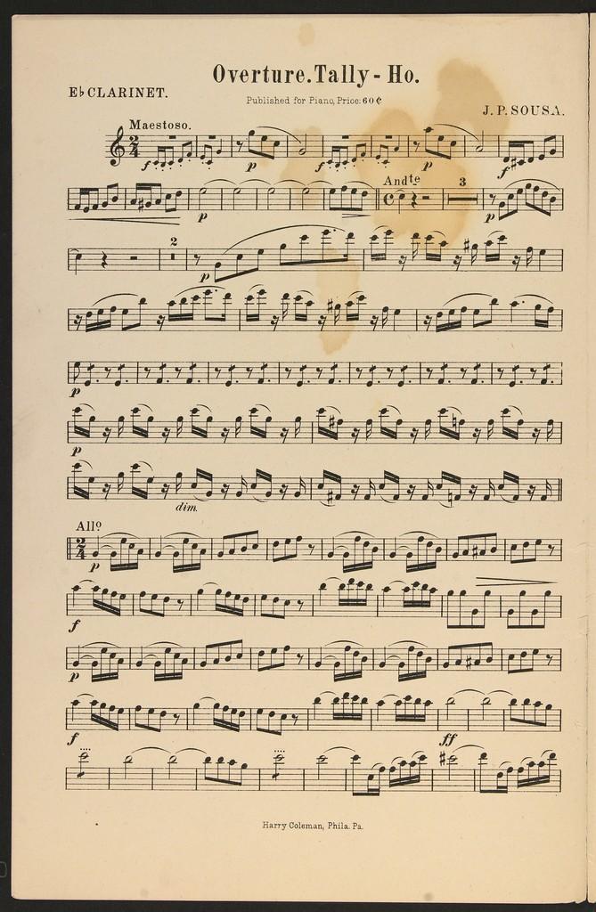 Overture, Tally-Ho
