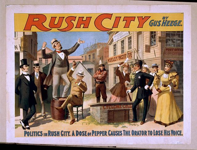 Rush City by Gus Heege.