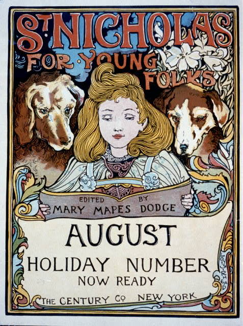 St. Nicholas for young folks, edited by Mary Mapes Dodge, August holiday number now ready : The Century Co., New York / Louis Rhead