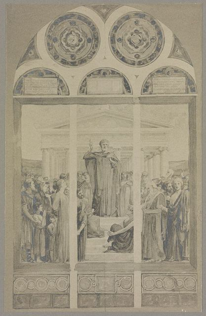 """""""St. Paul preaching at Athens"""""""