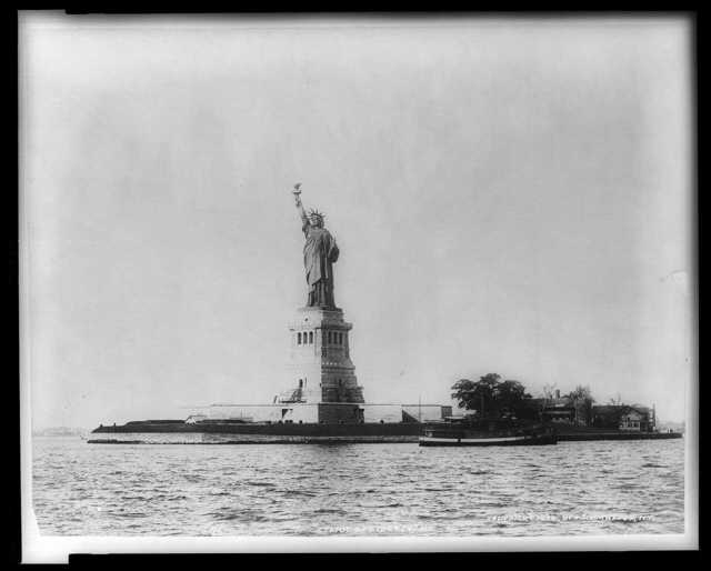 Statue of Liberty, N.Y. / J.S. Johnston, view & marine photo.