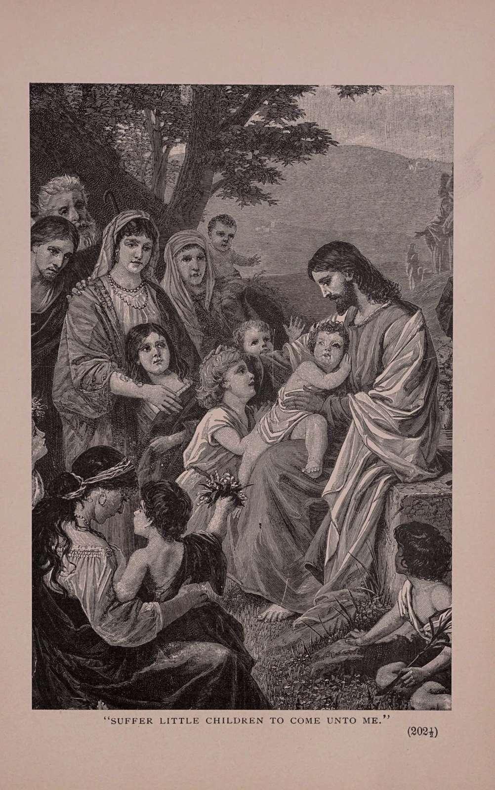 Talks to children about Jesus