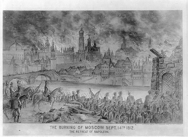 [The burning of Moscow, September 14, 1812; the retreat of Napoleon]