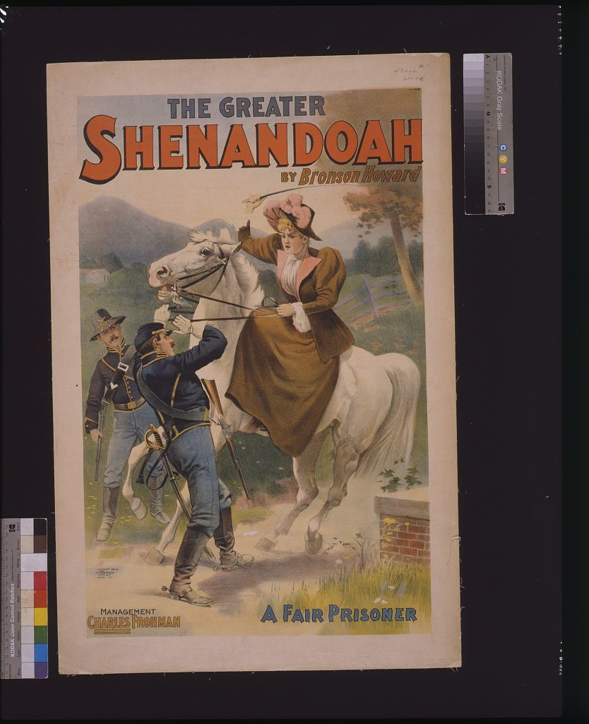 The Greater Shenandoah by Bronson Howard