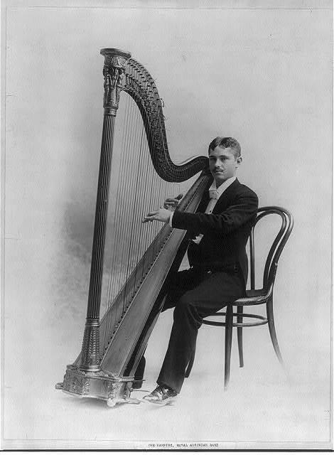 The Harpist, Royal Austrian Band