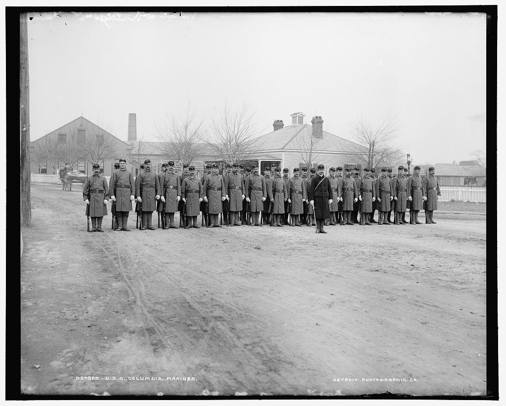 U.S.S. Columbia, marines