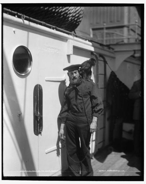 U.S.S. Raleigh, the ship's mascot