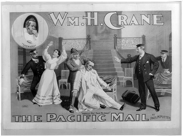 Wm. H. Crane. The Pacific mail by Paul M. Potter.