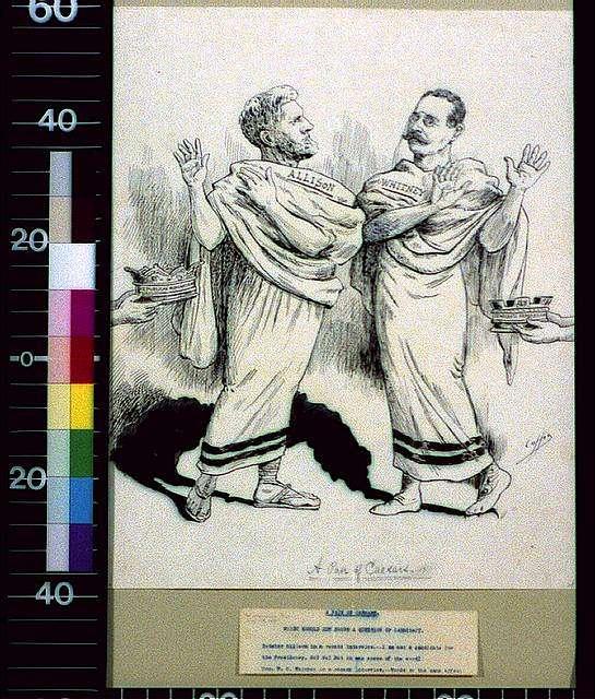 A pair of Caesars