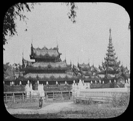 Buddhist monastery at Sagaing, near Mandalay