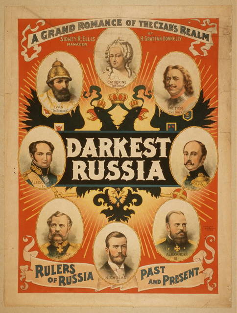 Darkest Russia a grand romance of the Czar's realm.