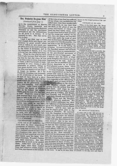 Douglass, Frederick (Death) - Folder 9 of 34