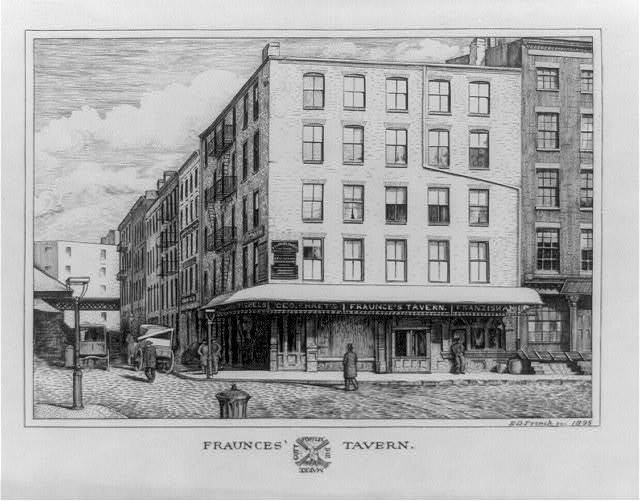 Fraunces' Tavern, southeast corner Broad and Pearl Streets