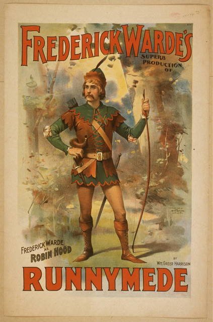 Frederick Warde's superb production of Runnymede by Wm. Greer Harrison.