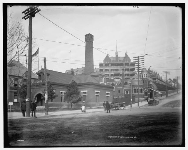 [Government Reservation building, Hot Springs, Arkansas]