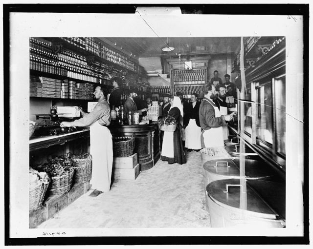 [Grocery, I.I. Lapin, Moskow, Russia]