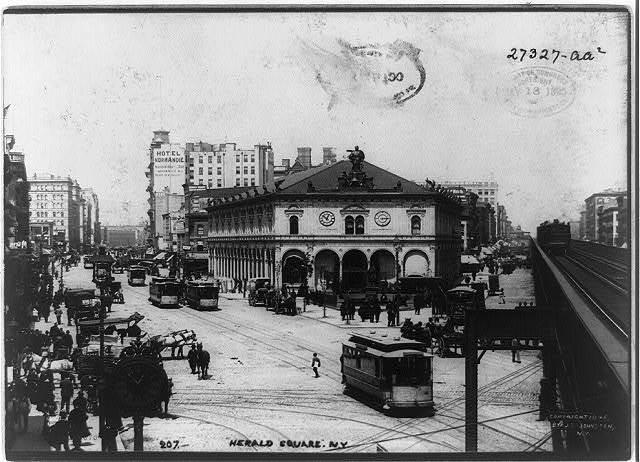 Herald Square, N.Y. / J.S. Johnston, view & marine photo, N.Y.